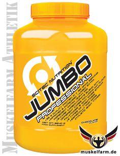Scitec Nutrition Jumbo Professional ist ein professioneller Weight Gainer für den Muskelaufbau mit Protein, Kohlenhydrate und 6-fach Creatin-Matrix.