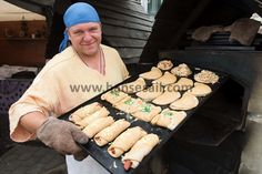 Fresh bread at Hanse Sail Rostock