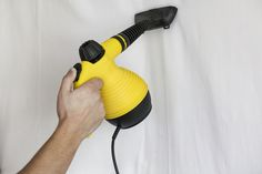 A clothes steamer can do a lot more about the house than remove wrinkles on clothes. Learn 11 surprising things you can clean with a clothes steamer. Source by Bufflehead Car Steam Cleaner, Steam Cleaners, Car Upholstery, Upholstery Cleaner, Cleaning Walls, Cleaning Tips, Green Cleaning, Cleaning Solutions, Clean Tile Grout