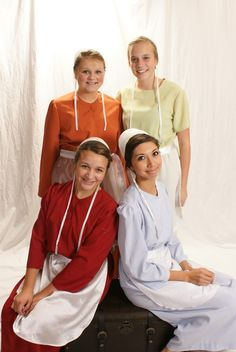 All things Amish - Each Amish community has varying clothing standards including the colors considered appropriate.