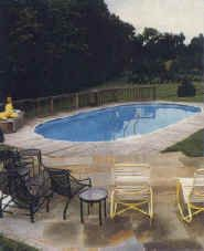 The inground look for above ground pools