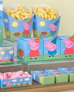 Peppa Pig is usually a Uk toddler computer animated tv set sequence instructed and created Pig Birthday Cakes, 3rd Birthday Parties, Birthday Party Decorations, 2nd Birthday, Party Themes, Fiestas Peppa Pig, Cumple Peppa Pig, Peppa Pig Party Supplies, Peppa Pig Party Ideas
