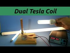 Dual Primary Tesla Coil - YouTube