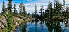 Snow Lakes Trail - Sky Lakes Wilderness, Oregon