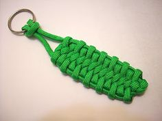 A Paracord Man Project: Bug Belly Bar Key Fob