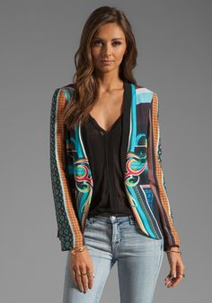 CLOVER CANYON Midnight Diner Soft Suiting Blazer in Multi at Revolve Clothing - Free Shipping!