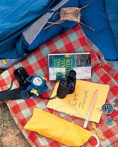Camp Under the Stars in Your Backyard-Martha Stewart