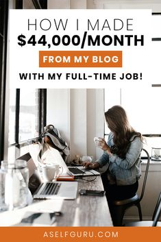 Looking to work from home? You will love this blog post that shows you how this blogger makes $44,000 a month blogging with her full-time job. Legit work from home jobs, online jobs, part-time work from home jobs, money making side hustle ideas, late-night jobs to earn extra cash on the side. If you're looking for #workfromhomecareers, read this post! #workfromhome #makemoneyonline #makemoneyblogging #remotejobsathome #workfromhomejobs Make Money Fast, Make Money Blogging, Make Money Online, Marketing Digital, Content Marketing, Affiliate Marketing, Business Marketing, Get Youtube Subscribers, Inspiration Entrepreneur