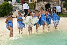 bridesmaids <3 happy!!!! destination wedding Italy photo Il RItratto28.com