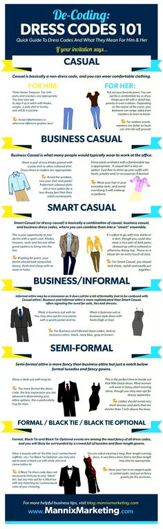 #Business Dress Codes.  If you own your own #company or #enterprise you can dress as you please.  www.EyemarkRealty.com