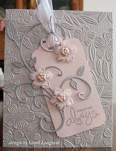 wedding card by Carol Longacre                                                                                                                                                                                 More