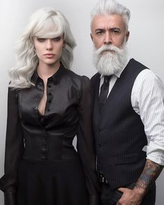 Meet Alessandro Manfredini, a 47 year old italian model. If you're looking age gracefully then making sure your beard care routine is on point will definitely help.