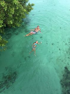 Hacienda Tres Rios guests swimming in the river by the bridge. #RivieraMaya