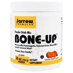 Jarrow Formulas, Bone-Up Powder Drink Mix, Natural Orange Flavor, 14 oz (396 g)