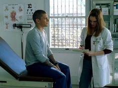 Still of Wentworth Miller and Sarah Wayne Callies in Prison Break (2005)
