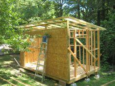 Kanga prefab modern shed kit Kanga Room Systems Backyard