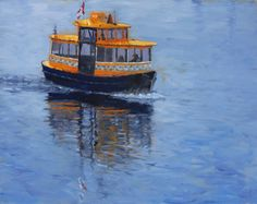 """""""The Water Taxi"""" , is a little boat the Victoria Harbour in BC. It is fun to ride it as a family and friends. Victoria Harbour, Visit Victoria, Taxi, How To Memorize Things, Places To Visit, Journal, Fine Art, Water, Boats"""