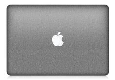 MacBook Pro or Air Steel Brushed Skin FULL COVERAGE by iCoverSkin, $49.99