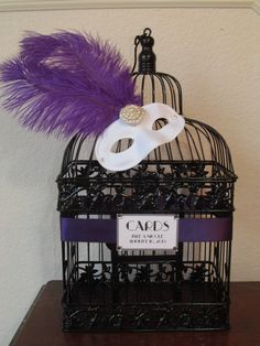 Hey, I found this really awesome Etsy listing at http://www.etsy.com/listing/151221167/venetian-ball-birdcage-wedding-card