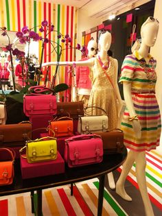 Kate Spade storefront #window #fashion