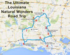 The Ultimate Louisiana Natural Wonders Road Trip Is Right Here—And You'll Want To Take It