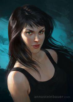 Black hair portraits (female) - christmas_giveaway__by_depingo-d5o7kkl.jpg - Minus