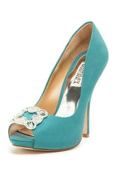 Badgley Mischka - Gayla Peep Toe Pump $110