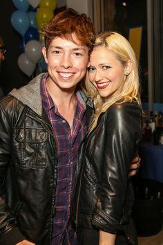Josh Blaylock and Johanna Braddy