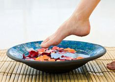 homemade foot soaks