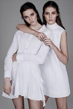 All White Everything | WSJ #alexanderwang #editorial #style
