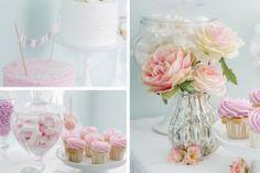 rose, cupcakes e torta