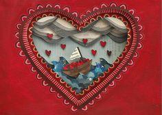 heart boat