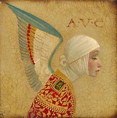 Angel with Epaulet - James Christensen