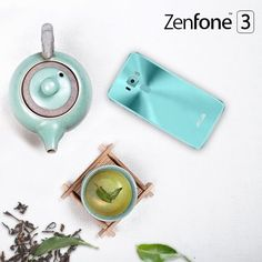 Keep calm and stay Zen. #ZenFone 3 now available in aqua blue!
