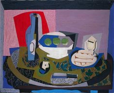 Pablo Picasso - Still Life with Biscuits [1924]   von Gandalf's Gallery