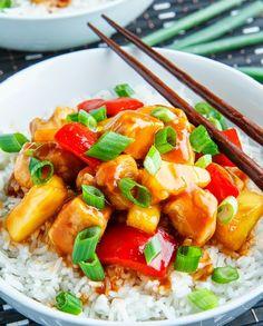 Low FODMAP Recipe and Gluten Free Recipe - Easy sweet & sour chicken
