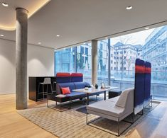 LINC Is Steelcase's European Office of Tomorrow - Design Milk