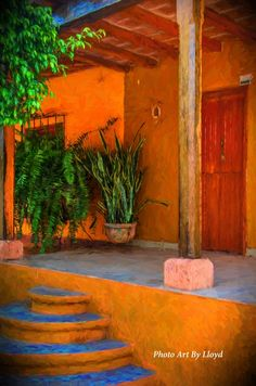 A Home in El Quelite Mexico. See it on my web site. http://www.saatchiart.com/account/artworks/686477