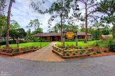 The Settlement Trading Post at Walt Disney World's Fort Wilderness Campground.