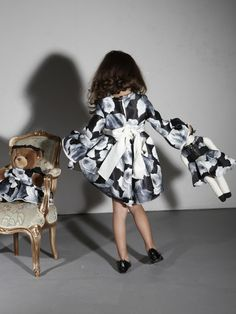 If you have a little baby girl desperate for some Pre-Spring/Resort pieces, look no further than Alber Elbaz 'Petit'at Lanvin, who has created quite possibly the cutest kids collection ever.