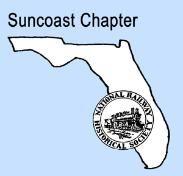 FLORIDA - SUNCOAST CHAPTER - NATIONAL RAILWAY HISTORICAL SOCIETY