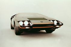 1968 Alfa Romeo Carabo by Bertone Some of the concept cars that have been made by the Italian Alfa Romeo company. Best Car Ever. Love Red heart and soul, best sport jot car. Cars Vintage, Retro Cars, Ferrari, Lamborghini, Jaguar, Automotive Design, Amazing Cars, Awesome, Classic Cars