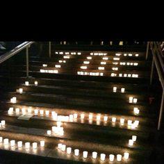 Candlelight vigil for Joe Pa!