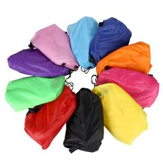 Sleeping Bags Bluefield Envelope Type Fleece Lazy Bag Laybag Comfortable Sleeping Bag Camping Sofa Sleeping Beach Bed For Outdoor Activity Durable Service