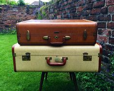 Vintage Suitcases | Vintage LUGGAGE | Luggage For Men | Vintage Home Decor  | Vintage TRUNKS