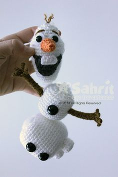 Funny Snowman Amigurumi Pattern
