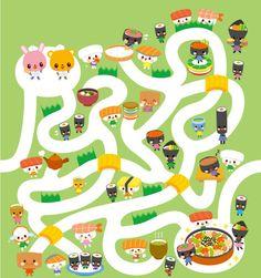 Adventure maze  Yuka Sato Tokyo, Japan