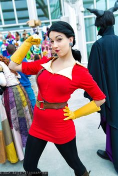 Female Gaston from Beauty and the Beast
