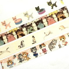 Washi Tape Cat Kitten Animal Cute For Planners