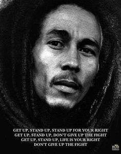Bob Marley : Get Up Stand Up - Mini Poster 40cm x 50cm (new & sealed)
